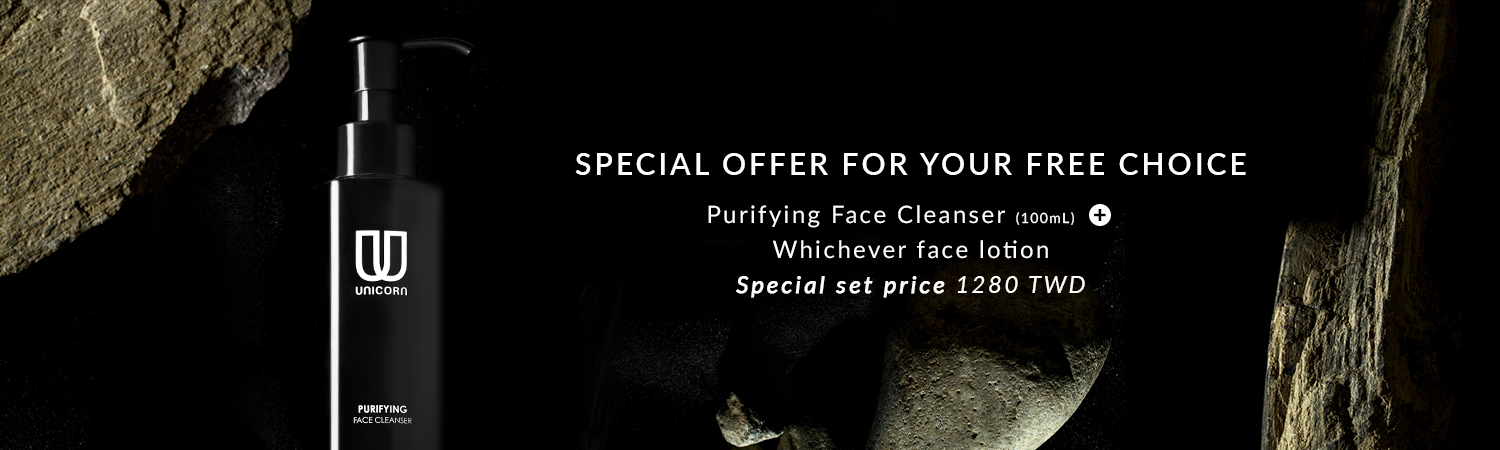 Purifying Face Cleanser 100ml + Whichever face lotion